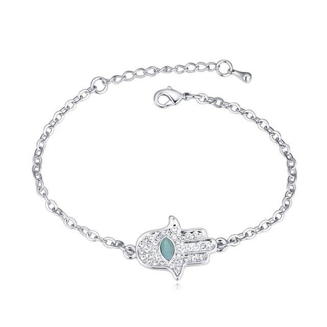 2018 new charme fatima main bracelet avec cristal de swarovski bon pour  fille ami cadeau de