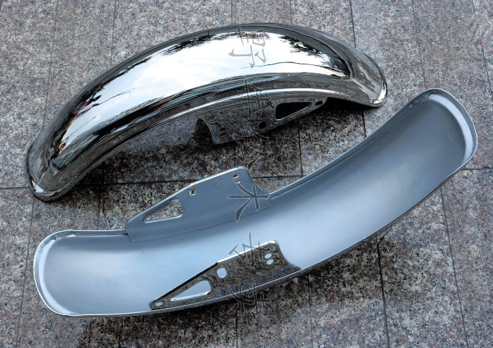 Free Shipping High Quality Motorcycle Front Mudguard Front Fender For Suzuki GN250 1pc All Metal 8