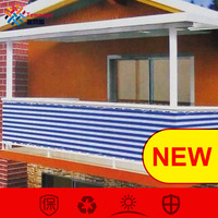 Tewango Custom Home Balcony Privacy Screen With Grommets Fence Deck Shade Sail Yard Cover UV Sunblock Wind Child Safe Protection