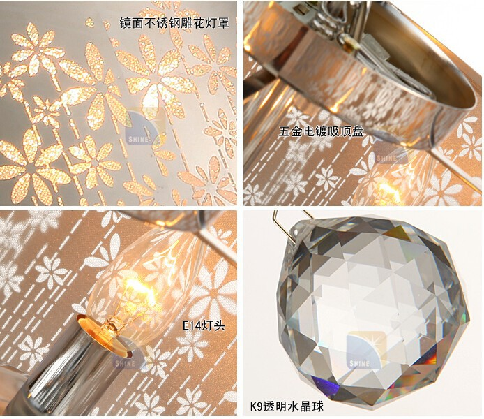 ceiling crystal lamp-6