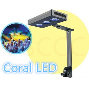 Image 4 - 30W 52W 75W LED Aquarium Light Dimmable Full Spectrum For Coral Reef Grow Fish Tank LED light marine sea tank coral SPS LPS