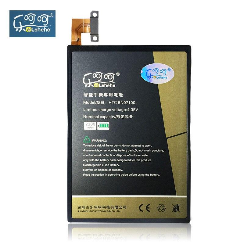 LEHEHE batterie Pour HTC Un M7 801E 801 S 801N 802D 802 W 802 T BN07100 HTL22 2300 mAh Remplacement Outils gratuits Cadeaux