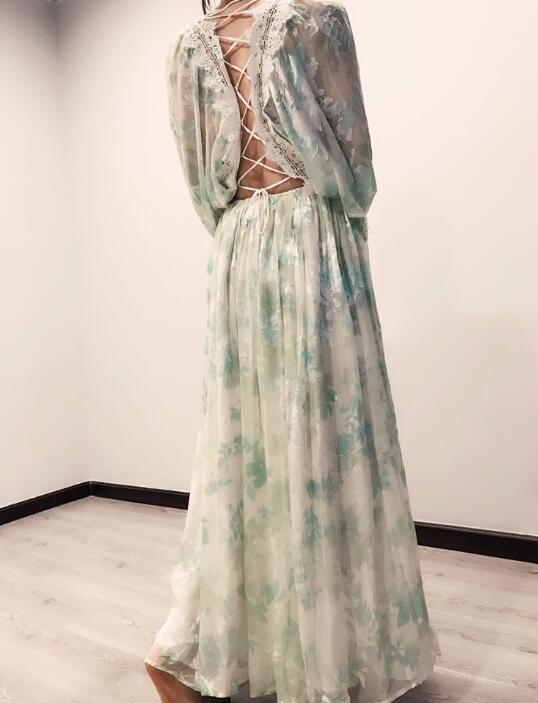 f88ef55c5fa56 Buy mint maxi dresses and get free shipping on AliExpress.com