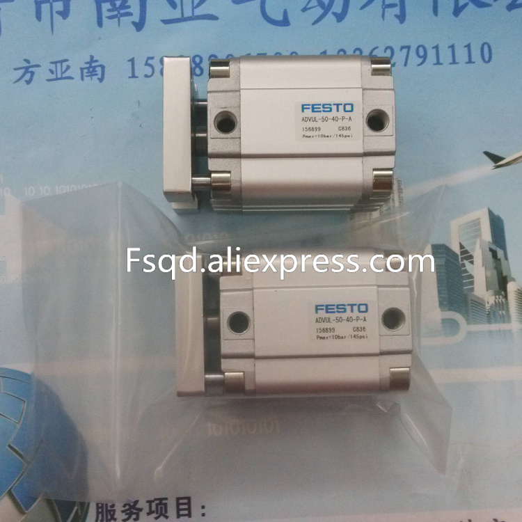 ADVUL-50-40-P-A pneumatic air tools pneumatic tool pneumatic cylinder pneumatic cylinders air cylinder FEST0 advul 16 20 p a festo thin type cylinder with air cushion air cylinder pneumatic component air tools
