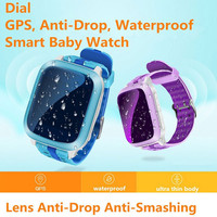 2018 New Children GPS Sport Smart Watch Child Monitor Waterproof Pedometer Heart Rate Wristwatch intelligent reminders relogio