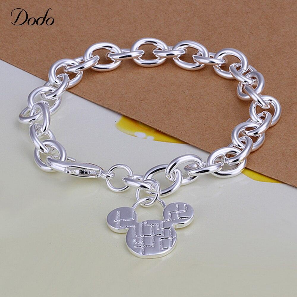 Dodo Trendy Silver Plated Women Bracelet Wedding Anniversary Quotes