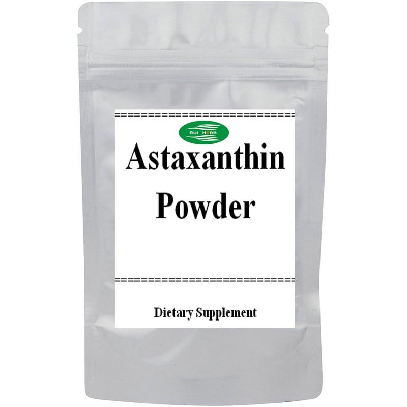 Natural Astaxanthin Powder Powerful Anti-oxidant anti oxidant potential of green tea