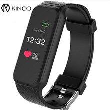 L38i Модные мужские и женские Спорт браслет OLED Черный сенсорный IP67 Экран смартфон напоминание сердечного ритма предупреждения Смарт-часы