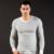 2016 Homens inverno quente roupa interior Térmica de algodão modal T shirt Tops Sexy Camisola quente roupa interior (não incluem calças)