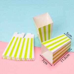 Image 5 - 12 Uds. De bolsas de palomitas de maíz de oro rosa para fiestas de niños, cajas de decoración para boda y cumpleaños, suministros para películas, bolsa de palomitas de maíz, suministros para fiestas