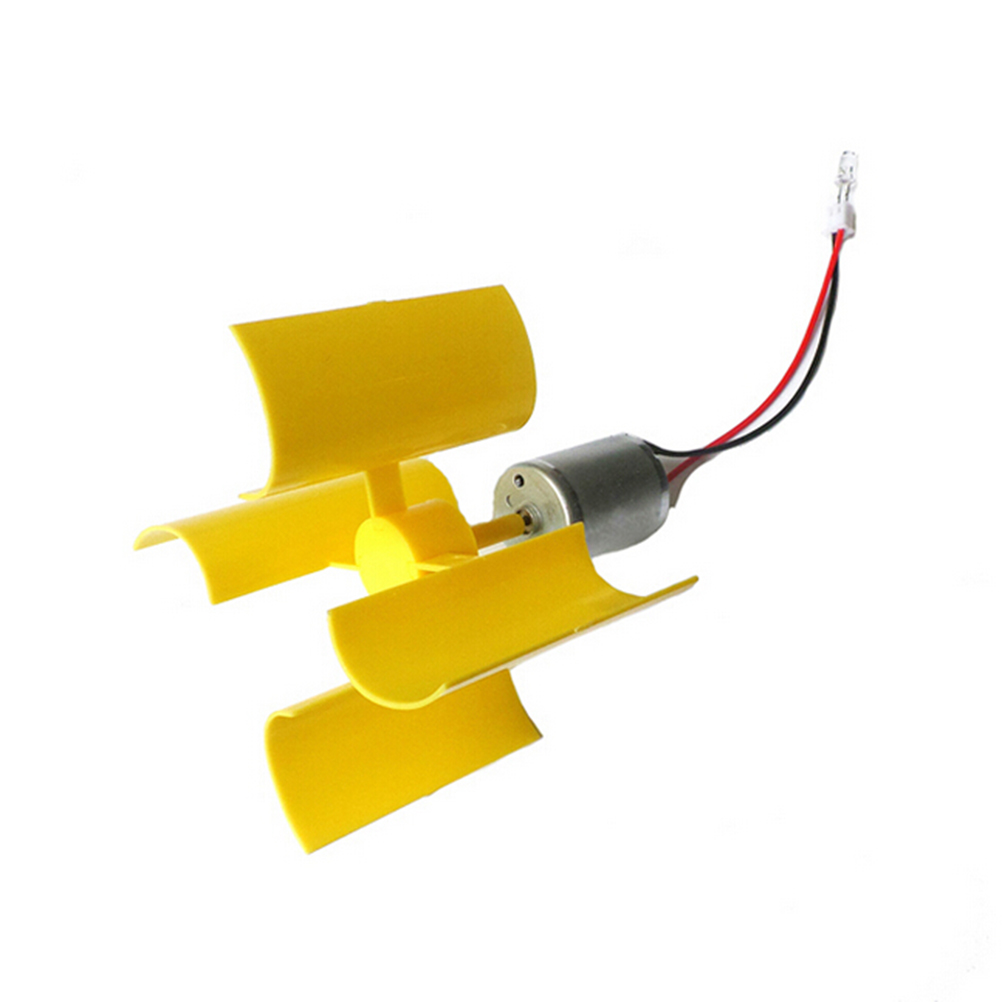 High Quality 3v-5v Small Motor Vertical Micro Wind Turbines Blades Power Generator DIY Kit 1PCS