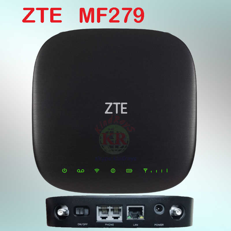 AT & T ZTE MF279 Pocket 4g LTE WiFi Router Ondersteuning B2/B4/B5/B12/B29/ b30 4g mobiele router hotspot