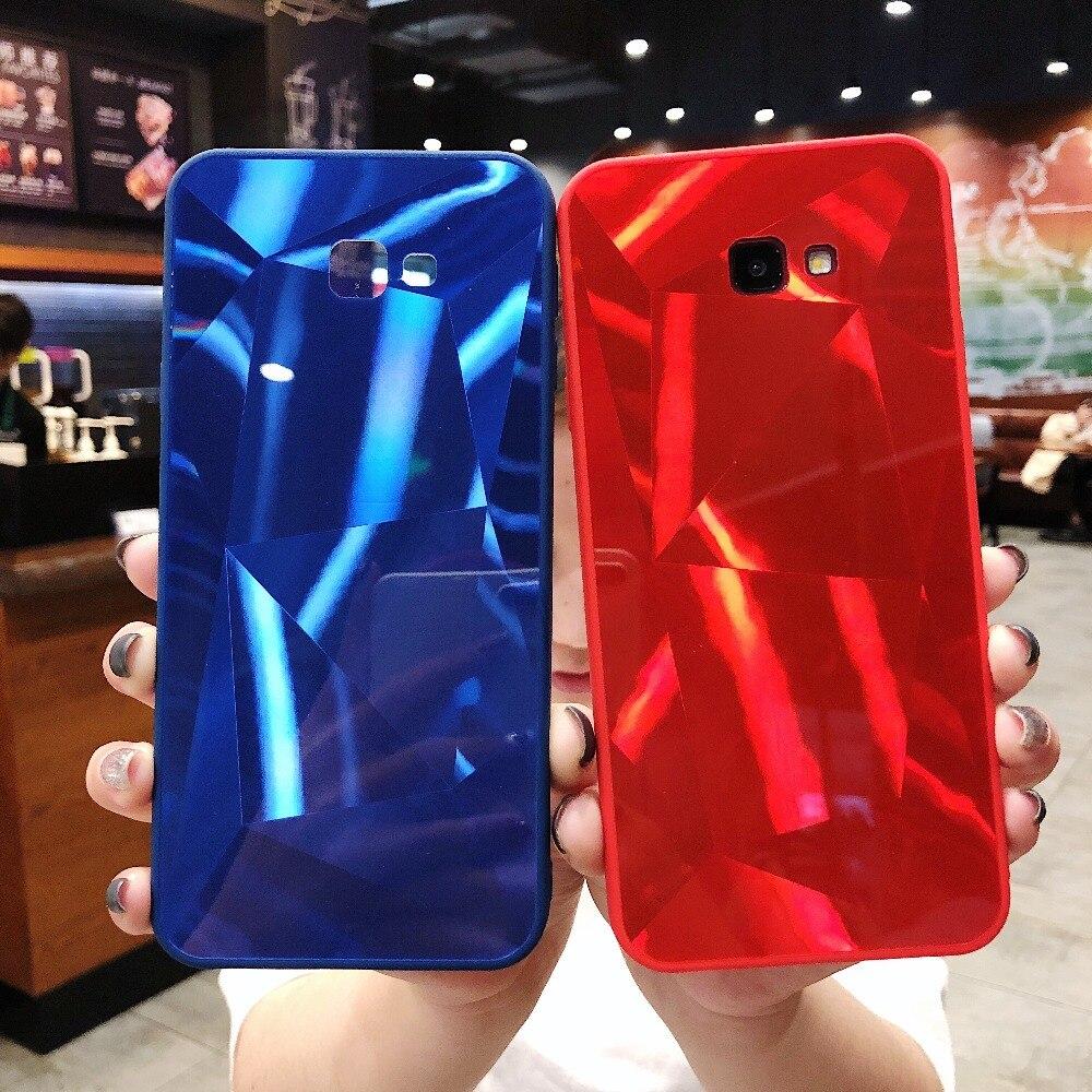 Diamond Texture Hard Case For Samsung Galaxy J2 J3 J4 J5 J6 J7 Pro primer Plus