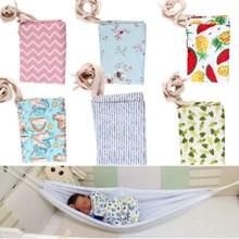 Прочный детский гамак для новорожденных, портативная кровать, эластичная Съемная безопасная кроватка