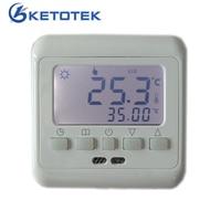 Floor Heating Digital Thermostat Underfloor Warm Temperature Controller Weekly Programmable