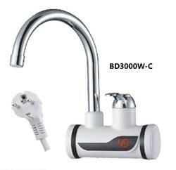 BD3000W-C, цифровой дисплей мгновенный горячий водопроводный кран, быстрый Электрический нагрев водопроводный кран, Inetant Электрический нагрев