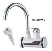 473 BD3000W C  Digital Display Instant Heißer Wasserhahn  Schnelle elektrische heizung wasserhahn  Inetant Elektrische Heizung Wasser Wasserhahn-in Elektrische Warmwasserbereiter aus Haushaltsgeräte bei