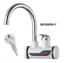 BD3000W-C, цифровой дисплей мгновенный горячий водопроводный кран, быстрый Электрический нагрев водопроводный кран, Inetant Электрический нагрев водопроводный кран