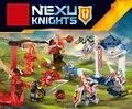 Nexus caballeros caliente mini escenas de bloques de construcción de ladrillos de arcilla aaron bestia maestro diablo llama lance compatible legoeinglys. juguetes de los niños