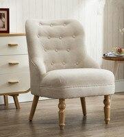 Современные Кресло для отдыха одно место домашний сад гостиная или мебель для спальни клуб диван стул современные кресло акцент кресло