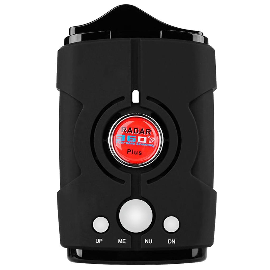 V8 360 degree Car GPS Speed Radar Detector Scanning Voice Alert Laser LED For Safety