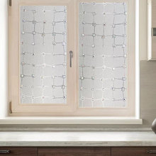 90*200cm Privacy Window Film 3D Diamond Decorative Electrostatic Anti-UV Heat Control Glass Stickers Office door Home Decor