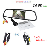 Parking 2 4G Wireless Module For Car Rear View Camera With Auto 4 3 Inch 800
