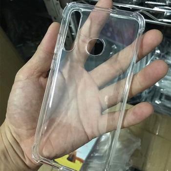 50pcs/lot Anti-Knock Clear Back Phone Case For Huawei Honor 20 Pro Nova 4 Lite Enjoy 9S Maimang 8 Transparent Soft TPU Cover