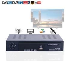 HD Digital DVBS2/DVBT2/DVBC TV Receiver Three In