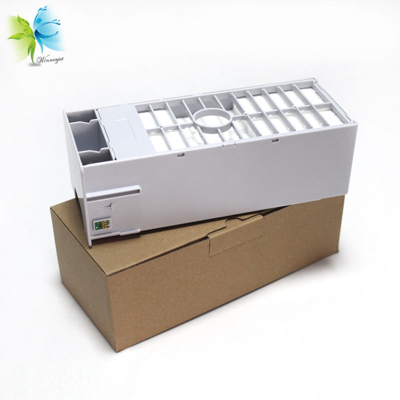 Maintenance Tank C12C890191 Waste Ink With Chip Compatible For Epson 7890 9890 Printer