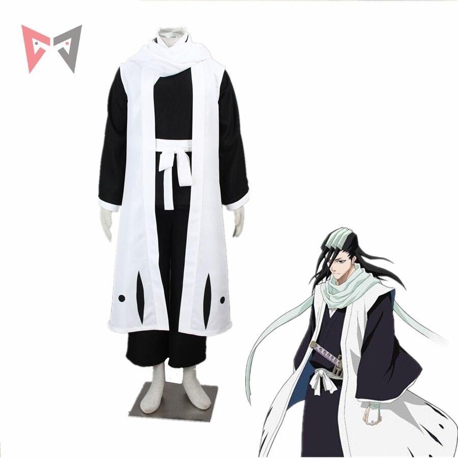MMGG Bleach cosplay Kuchiki Byakuya Cosplay costume Kimono Outfit