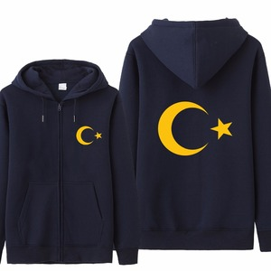 Image 5 - Omnitee Cool Turkey Flag Hoodies Tracksuit Men Casual  Autumn Fleece Jacket Zipper Pullover Turkey Sweatshirt