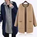 Cardigan cálida 2016 mujer gran tamaño de la rebeca 5XL mujeres suéter de europa y américa las nuevas mujeres de invierno de punto suéter de la rebeca caliente