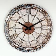 Frozen Decorative Wall Clock Modern Design Warranty 3 Years Mute Large Wall Clock Watch Shabby Chic Home Decor Living Room klok