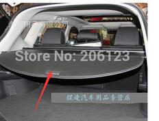 US local !tracking ! Quality! Rear Trunk Security Shield Cargo Cover For Nissan Rogue X-trail 2014 2015 car rear trunk security shield shade cargo cover for nissan qashqai 2008 2009 2010 2011 2012 2013 black beige