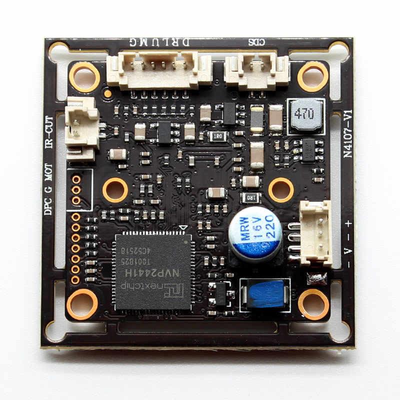 HD 4w1 AHD TVI CVI moduł CVBS Starlight niskie oświetlenie 0.0001Lux NVP2441 + IMX307 2mp kamera telewizji przemysłowej bezpieczeństwo płytka drukowana 1080P