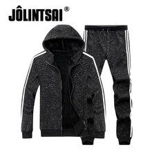 Плюс Размеры 5XL зимние теплые спортивные костюм Для мужчин флис спортивные костюмы для мужчин Костюмы бренд спортивной одежды sudaderas Hombre Для мужчин костюм