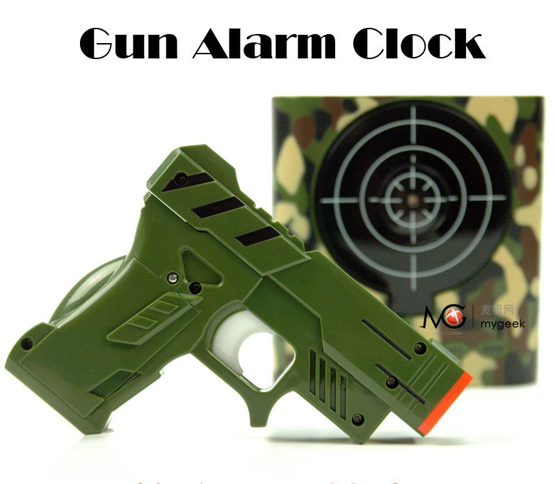 how to set up a gun alarm clock