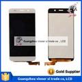 Venta caliente negro 5.0 pulgadas ips lcd con la asamblea de pantalla táctil para huawei y6 lcd envío gratis