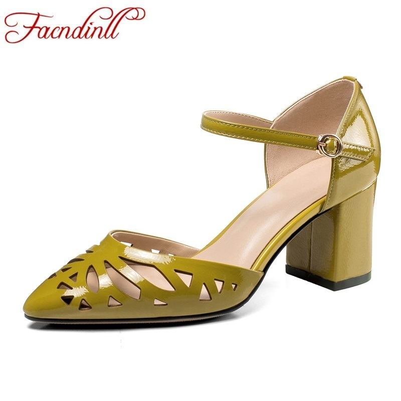 FACNDINLL fashion spring summer women pumps sexy genuine leather high heels pointed toe ladies dress party office pumps shoes vankaring women pumps new 2018 spring summer sexy high heels pointed toe shoes woman dress party wedding office ladies pumps