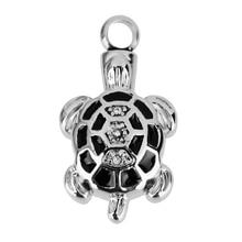 Turtle Shaped Ashes Pendant