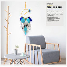 Handmade Creative Hanging Designed Crafts Handwoven Dreamnet Girl Style Brief Gift Jewelry Home Decoration