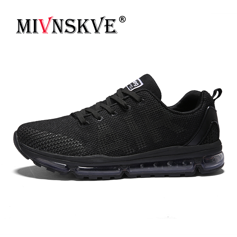 MIVNSKVE Men Running Shoes 2018 New Air Cushioning Sneakers Breathable Fly Trainers Walking Gym Outdoor women Shoes Zapatillas