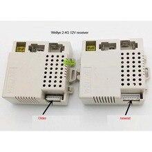 Wellye 7 pins 2.4G 12 V niño bluetooth motor eléctrico coche de control remoto placa del receptor para el coche de rc de actualización partes