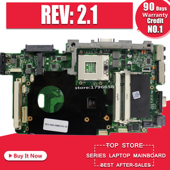 For ASUS K51IO X66IC K61IC K70IO laptop Motherboard REV:2.1 MCP79D-B2 60-NXXMB1000-A03 MPGA478MN DDR2 Mainboard
