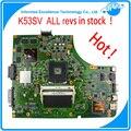 Original Del Ordenador Portátil Motherboard K53SV REV: 3.0 3.1 2.3 2.1 ajuste para asus k53s a53s x53s p53s notebook gt n12p-gs-a1 540 m