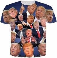 Donald Trump Paparazzi T Shirt Short Sleeve Trump T Shirt High Quality Casual Tops Funny Trump