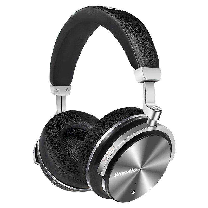 Bluedio T4S Active Noise Cancelling Wireless Bluetooth Headphones Portable Headset with microphone for phones and music bluedio f2 active noise cancelling wireless bluetooth headphones wireless headset with microphone for phones
