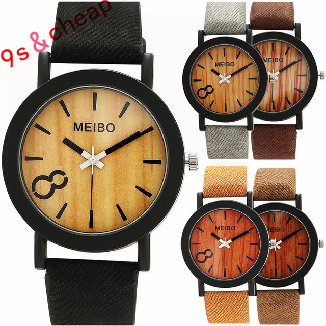 Neutral Simple Fashion Leather Quartz Wrist Watch Brand New High Quality Luxury