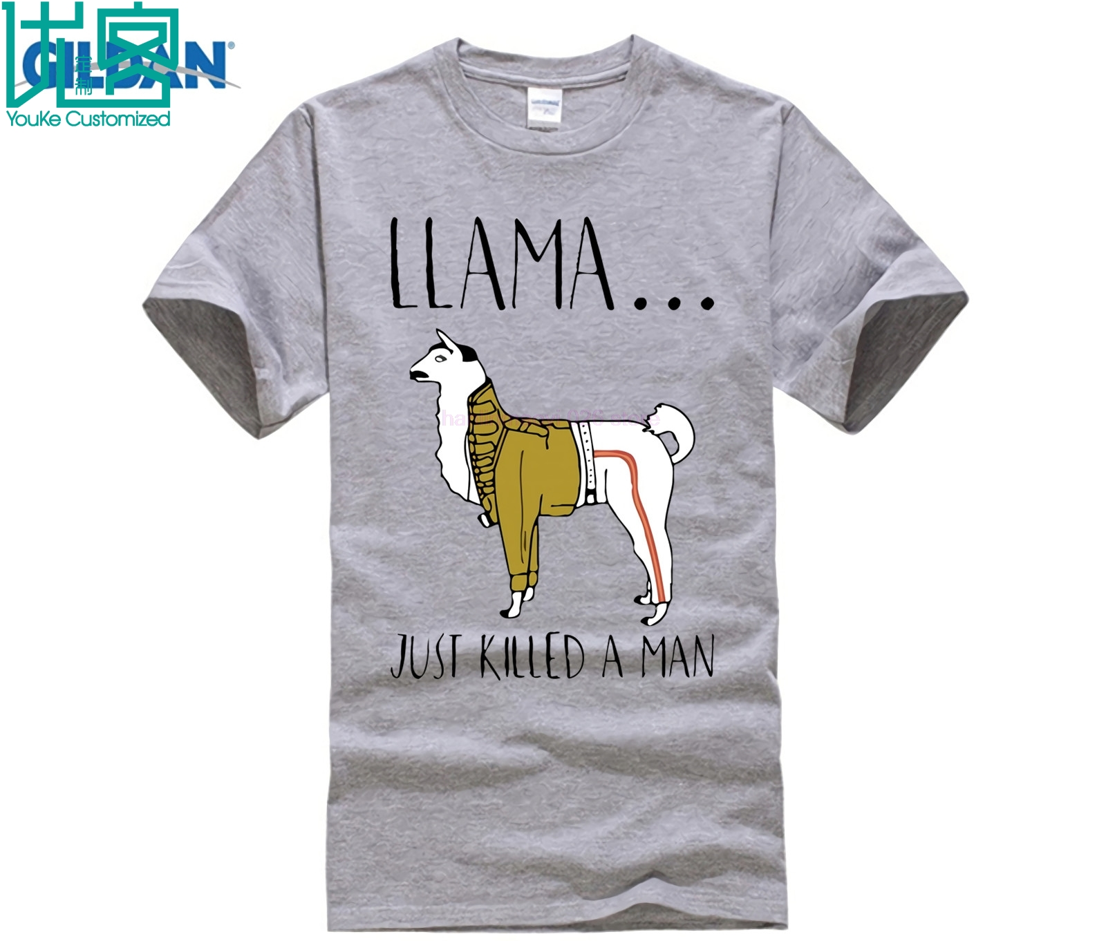 Freddie Mercury Llama Just Killed A Man Shirts in T Shirts from Men 39 s Clothing
